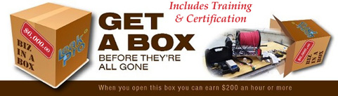 Leak Pro Training Business in a Box
